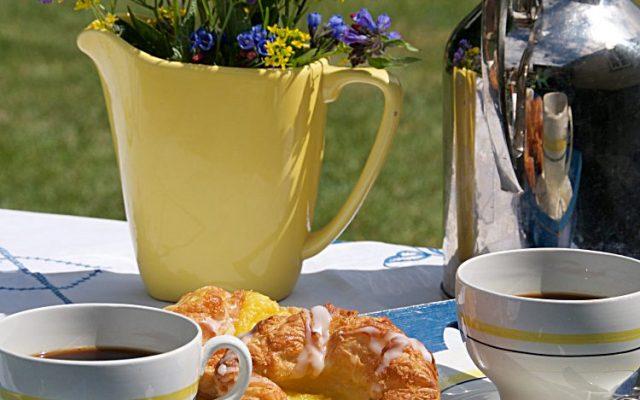 Wienerbröd och kaffe på Nationaldagen