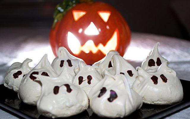 Spökmaränger till Halloween
