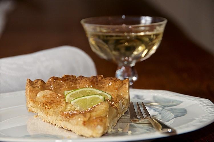 Fransk äppelkaka med smak av fläder från Halland