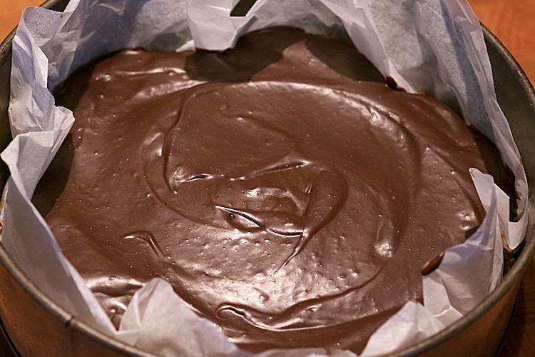 Chokladkaka med tryffelglasyr