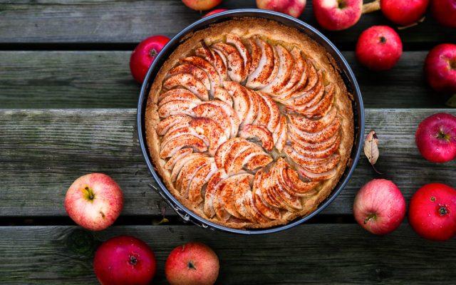 Äpplekaka som i Frankrike